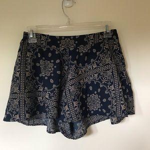 Charolette russe bandana pattern shorts